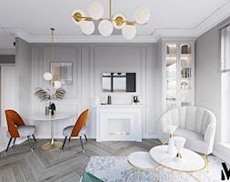 Kolor we wnętrzu - Salon, styl klasyczny - zdjęcie od Monika Idzikowska Wnętrza - Homebook