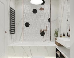 Łazienki - mieszkania - Łazienka, styl nowoczesny - zdjęcie od Aleksandra Bronszewska - Homebook
