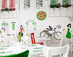 Restauracja włoska - Wnętrza publiczne, styl nowoczesny - zdjęcie od Aleksandra Bronszewska - Homebook