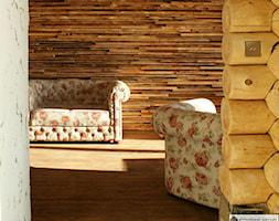 Apartament w stylu Chalet - Salon, styl rustykalny - zdjęcie od Aleksandra Bronszewska - Homebook