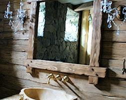 Apartament w stylu Chalet - Łazienka, styl rustykalny - zdjęcie od Aleksandra Bronszewska - Homebook