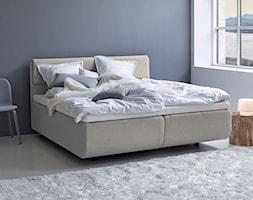 Łóżko North Box TEMPUR w stylu skandynawskim - zdjęcie od SENPO.PL łóżka, materace, stelaże, kołdry i poduszki