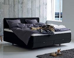 Łóżko North Continental Tempur w stylu skandynawskim - zdjęcie od SENPO.PL łóżka, materace, stelaże, kołdry i poduszki