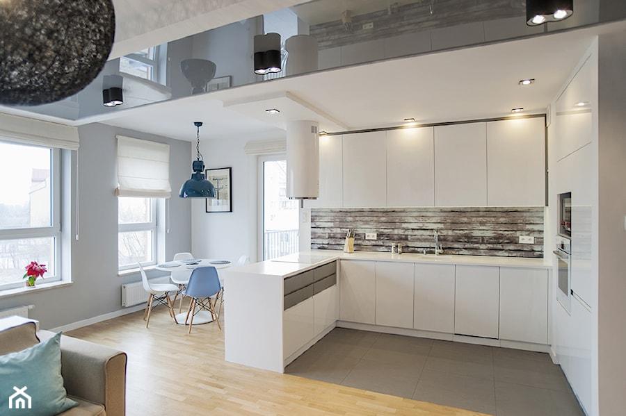Kuchnia Pod Sufit - Realizacja mieszkania w Krakowie luty 2014  zdjęcie od DK