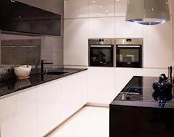 Wnętrza w Tychach - Średnia kuchnia, styl nowoczesny - zdjęcie od Architekt Adam Wawoczny