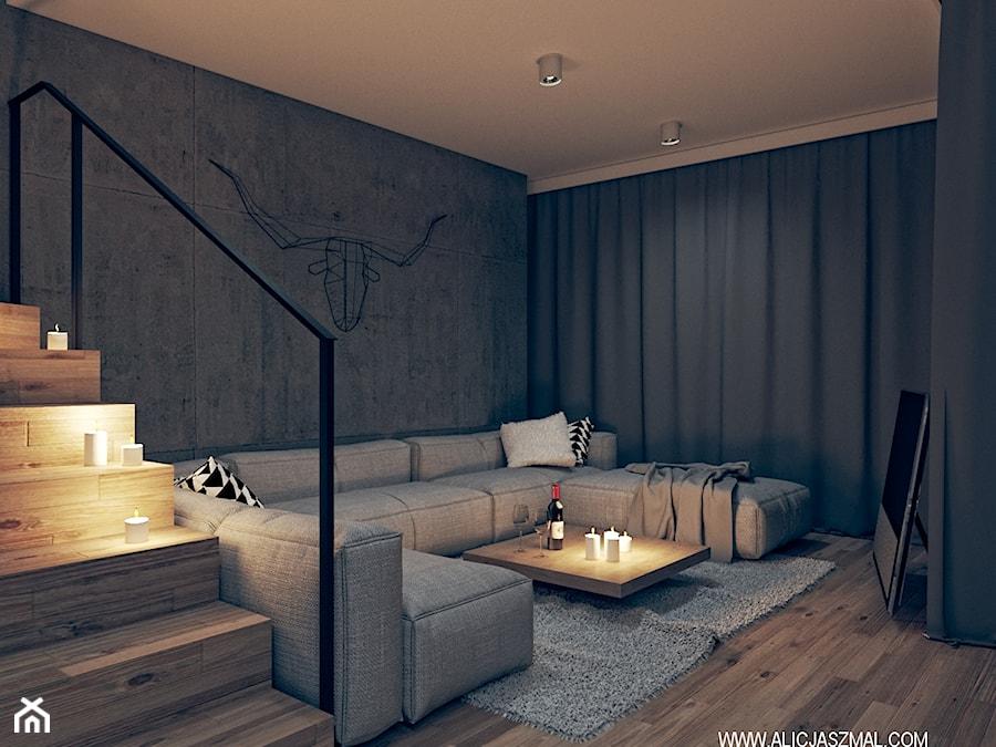 Salon nocą, Klin 15 - zdjęcie od Alicja Szmal Studio