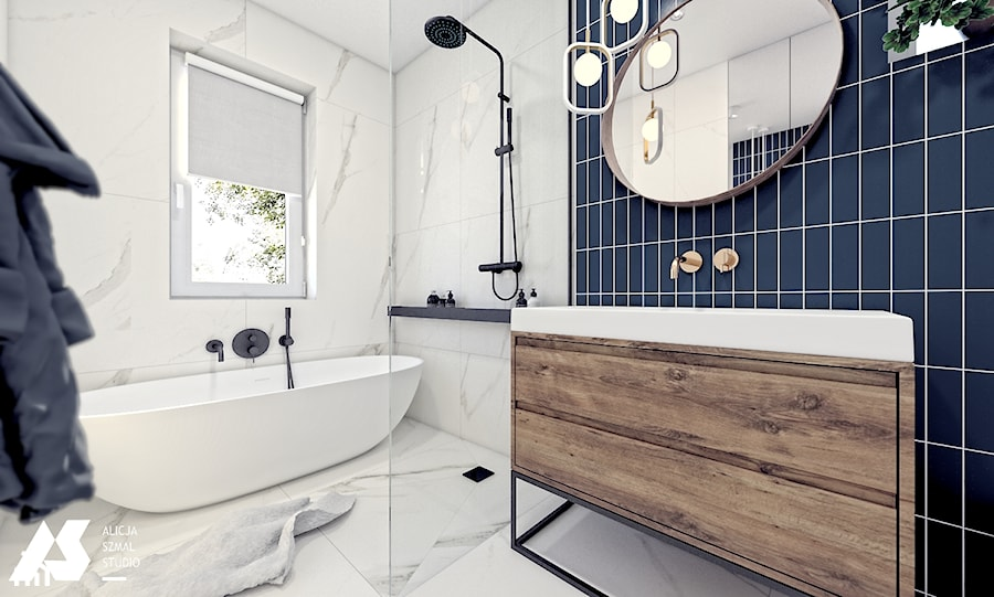 Granat W łazience Zdjęcie Od Alicja Szmal Studio Homebook