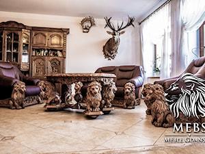 Półka PREMIUM meble dla bogatych, najdroższe meble świata - zdjęcie od MebS / MEBLE GDAŃSKIE - Pracownia Rzeźbiarska