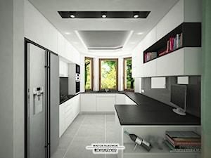 Gąsówka-Skwarki | Kuchnia otwarta w stylu nowoczesnym
