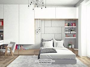 Białystok | Łąkowa | Projekt sypialni w stylu nowoczesnym