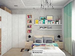Białystok | Wiadukt | Sypialnia wielofunkcyjna w stylu nowoczesnym