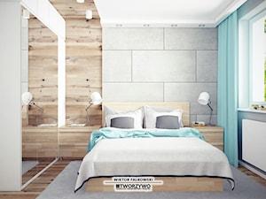 Białystok | Nadawki | Projekt sypialni w dwóch wersjach kolorystycznych