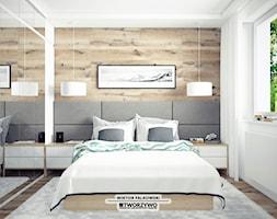 Sypialnia+-+zdj%C4%99cie+od+%22TWORZYWO%22+Warsztat+Architektury+Wn%C4%99trz