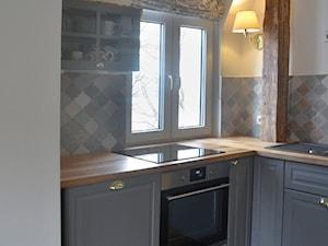 Kuchnia mieszkania w kamienicy - zdjęcie od Kaan Studio Katarzyna Antończyk