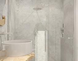 %C5%81azienka+rustykalna+z+prysznicem+-+zdj%C4%99cie+od+ONE+HOME+Studio+Architektury+Wn%C4%99trz