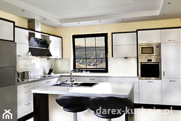 Nowoczesna kuchnia z wyspą  zdjęcie od Darex Producent   -> Kuchnia Z Wyspa Koszt