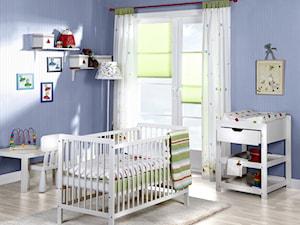 Aranżacje - Średni niebieski pokój dziecka dla chłopca dla dziewczynki dla ucznia dla niemowlaka, styl eklektyczny - zdjęcie od MARDOM HOME