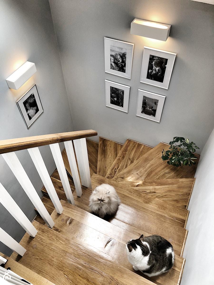 PRZEDPOKÓJ W JASNYCH KOLORACH - Schody, styl klasyczny - zdjęcie od KAROLINA MEARS Stylizacje wnętrz