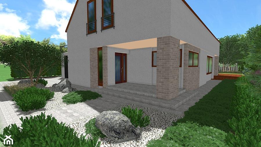 Skandynawski ogród z wydmą - Ogród, styl skandynawski - zdjęcie od Rock&Flower studio