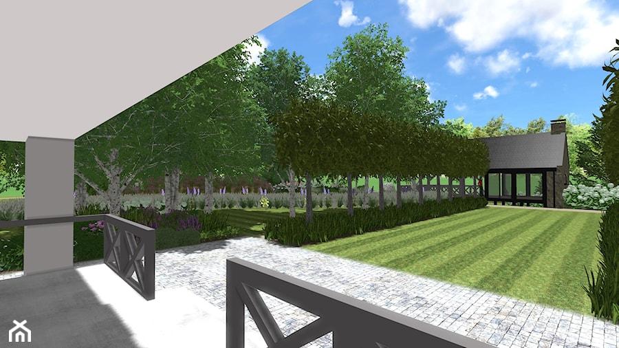 Rezydencja nad jeziorem - Ogród, styl klasyczny - zdjęcie od Rock&Flower studio