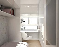 Pomysł na wąską przestrzeń w niewielkim pomieszczeniu - zdjęcie od ZAZA studio