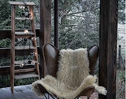 Forest in home - Średni taras z tyłu domu rustykalny - zdjęcie od bogusias_dream