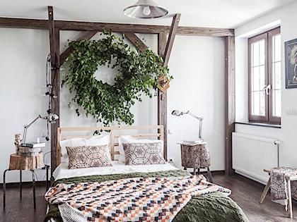 ściana Za łóżkiem W Sypialni Zobacz Niezwykle Inspirujące
