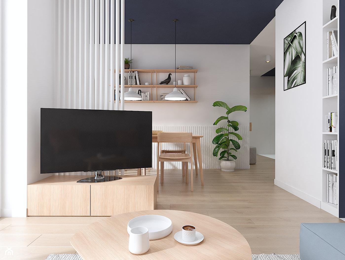 Projekt wnętrz mieszkania w Poznaniu /4/ - Salon 2 - zdjęcie od YONO Architecture - Homebook