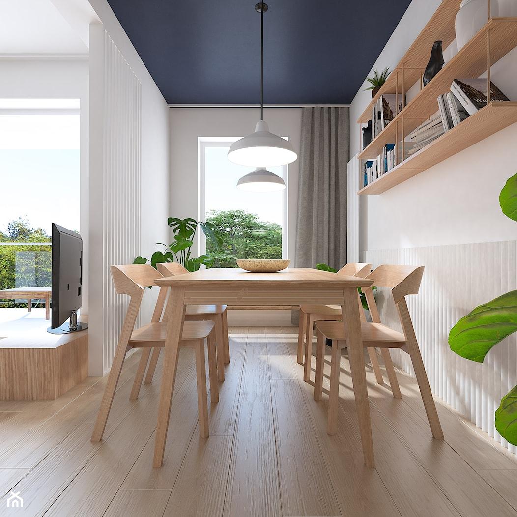 Projekt wnętrz mieszkania w Poznaniu /4/ - nowoczesna jadalnia - zdjęcie od YONO Architecture - Homebook