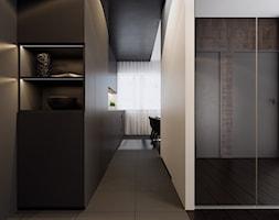 Korytarz+w+czerni.+-+zdj%C4%99cie+od+YONO+Architecture