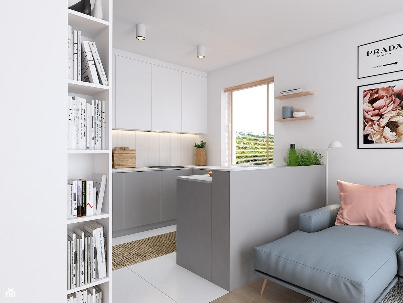 Projekt wnętrz mieszkania w Poznaniu /4/ - Kuchnia 1 - zdjęcie od YONO Architecture - Homebook
