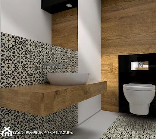 Mała łazienka, Projekt ESIGN - Homebook.pl