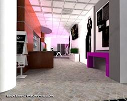 """Salon urody - """"Róż blues"""" - Wnętrza publiczne, styl art deco - zdjęcie od ESIGN"""