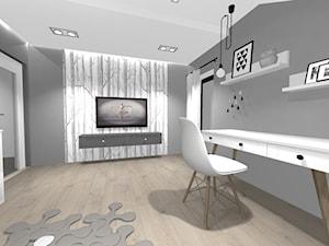 Pokój nastolatki w stylu skandynawskim