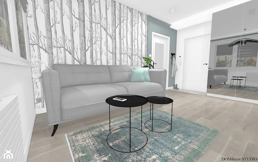 Kawalerka - Salon, styl nowoczesny - zdjęcie od DOMdecor Studio Klaudiusz Klepacki