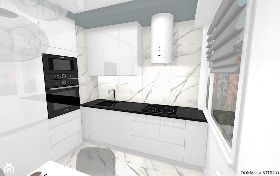 Kawalerka - Kuchnia, styl nowoczesny - zdjęcie od DOMdecor Studio Klaudiusz Klepacki