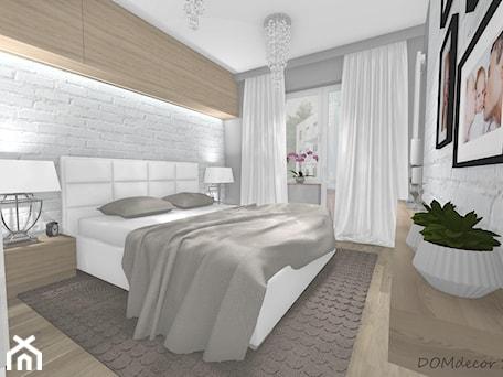 Projekty Wnetrz Mieszkalnych Sypialnie 2 Pokojowe Z Balkonem