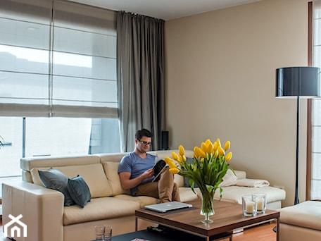 Aranżacje wnętrz - Salon: Wilanowski Apartament - Salon, styl nowoczesny - TiM Grey Projektowanie Wnętrz. Przeglądaj, dodawaj i zapisuj najlepsze zdjęcia, pomysły i inspiracje designerskie. W bazie mamy już prawie milion fotografii!