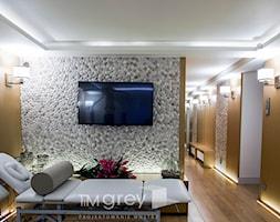 300m2 Klasycznej Elegancji - Wnętrza publiczne, styl glamour - zdjęcie od TiM Grey Projektowanie Wnętrz