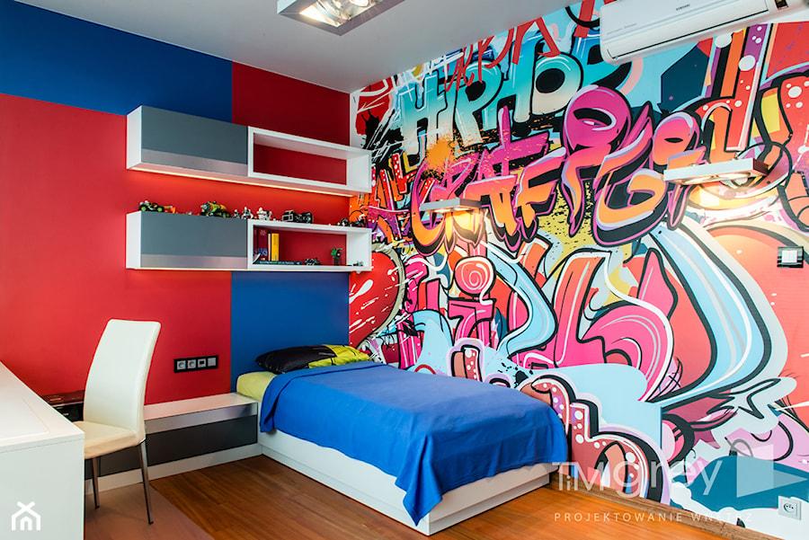 Wilanowski Apartament - Pokój dziecka, styl nowoczesny - zdjęcie od TiM Grey Projektowanie Wnętrz
