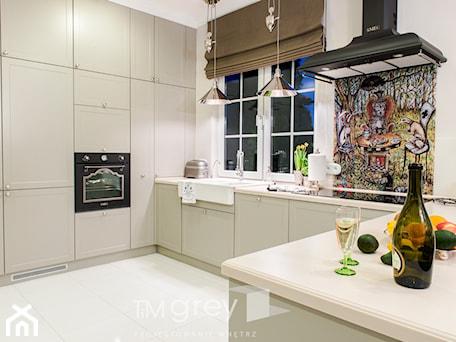 Aranżacje wnętrz - Kuchnia: Klasyczne 230m2 - Kuchnia, styl klasyczny - TiM Grey Projektowanie Wnętrz. Przeglądaj, dodawaj i zapisuj najlepsze zdjęcia, pomysły i inspiracje designerskie. W bazie mamy już prawie milion fotografii!