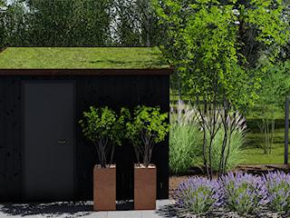 Ogród przy bliźniaku