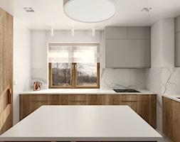 Dom jednorodzinny w Gliwicach - Kuchnia, styl nowoczesny - zdjęcie od KOCHAN wnętrza - Homebook