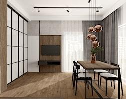 Mieszkanie w Rybniku - Salon, styl industrialny - zdjęcie od KOCHAN wnętrza - Homebook