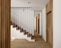 Dom jednorodzinny w Gliwicach - Schody, styl nowoczesny - zdjęcie od KOCHAN wnętrza - Homebook