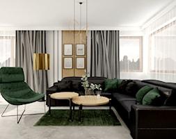 Dom jednorodzinny w Wodzisławiu Śląskim - Salon, styl nowoczesny - zdjęcie od KOCHAN wnętrza - Homebook