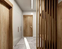 Dom jednorodzinny w Gliwicach - Hol / przedpokój, styl nowoczesny - zdjęcie od KOCHAN wnętrza - Homebook