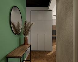 Mieszkanie w Rybniku - Hol / przedpokój, styl industrialny - zdjęcie od KOCHAN wnętrza - Homebook
