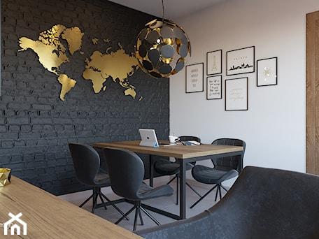 Aranżacje wnętrz - Biuro: Biuro w domu - Undo Design. Przeglądaj, dodawaj i zapisuj najlepsze zdjęcia, pomysły i inspiracje designerskie. W bazie mamy już prawie milion fotografii!