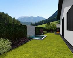 Dom z ogrodem 058. - Ogród, styl tradycyjny - zdjęcie od PR.ARCHITECTS - Homebook